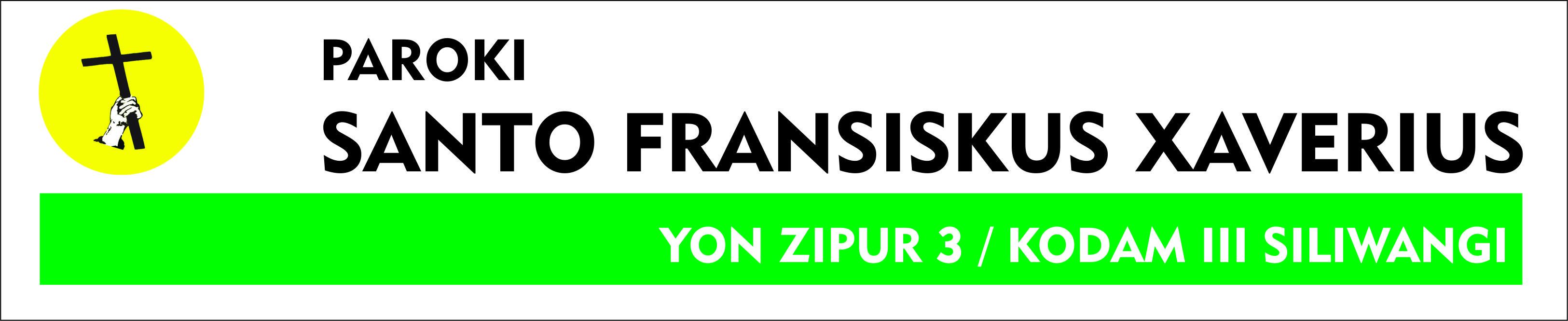 Paroki Santo Fransiskus Xaverius Yon Zipur 3 / KODAM III Siliwangi - Bandung